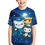 Coccko T-Shirts Barnacles Shirt Peso Short Sleeve Tee for Kids Small , The Oct-on-auts 1
