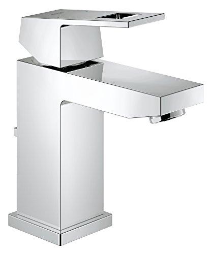 Grohe Eurocube - grifo de lavabo con vaciador + Ecojoy, tamaño S...