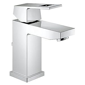 Grohe Eurocube – grifo de lavabo con vaciador + Ecojoy, tamaño S Ref. 2312700E