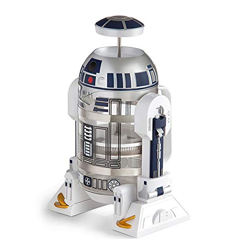 KHHK Star Wars R2-D2 Roboter French Press Kaffeekanne Kaffeemaschine