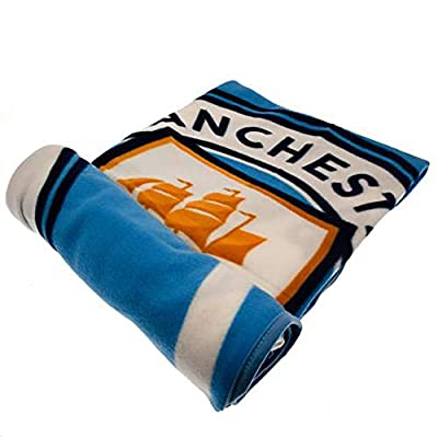 Official Licensed Manchester City F.C - Fleece Blanket (PL)