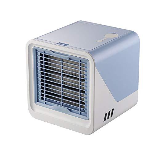 Draagbare Desk koelventilator USB Drive, Portable Air Conditioner Fan voor kantoor aan huis slaapkamer luchtreiniger luchtbevochtiger,Blue