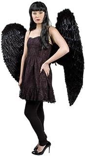 TH-MP Negra alas de ángel 120x 120cm Muelle alas