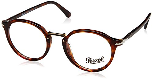 Persol Herren 0PO3185V Brillengestell, Braun (Havana), 48