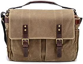 ONA - The Astoria - Camera Messenger Bag - Field Tan Waxed Canvas (ONA5-020RT)