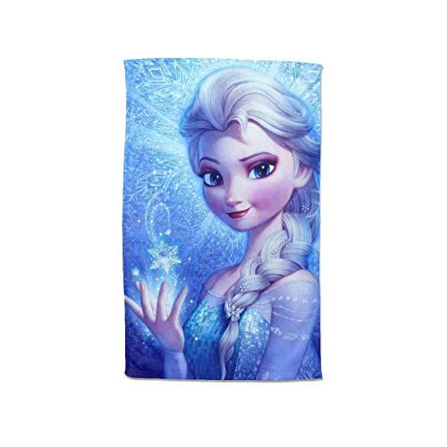 Large Puzzle Frozen Elsa - Toallas de lujo, toallas de mano, toallas de baño, toallas de baño, calidad de hotel, estilo moderno