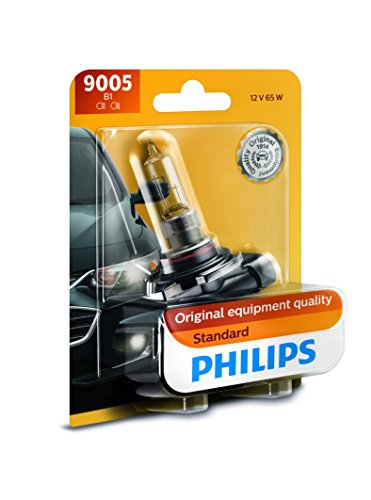 PHILIPS 9005B1 Philips 9005B1 Standard Authentic Halogen Replacement Headlight Bulb,1 pack