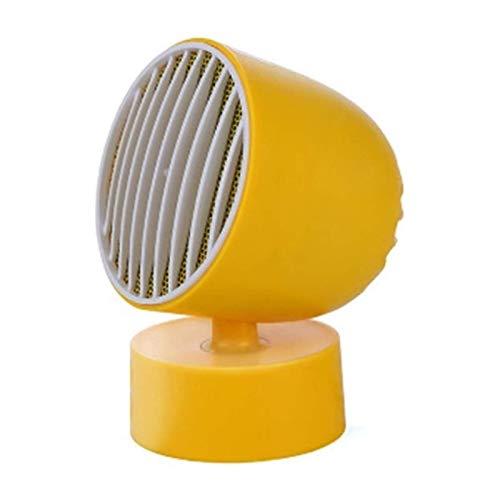 Calentador eléctrico, Mini Portátil USB Ventilador eléctrico Calentador de sobrecalentamiento Protección Energía Eficiente de la energía Calentador de ventilador (color: LY) Termostato (Color: LY) Xpi