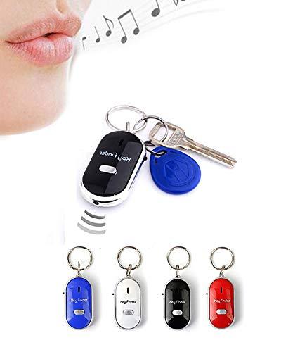 kamiustore Portachiavi Key Finder - Trova Chiavi con fischio e Luce