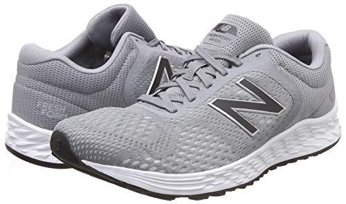 New Balance Men's Arishi V2 Fresh Foam Running Shoe, Grey Grey Silver, 7 UK