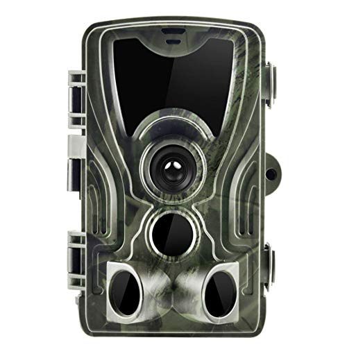 Outdoor Infrared Detection Camera / 0.3S Trigger Wildlife Camera Monitor IP65 Protection Level (Waterproof) Full HD 1080P Vidéo