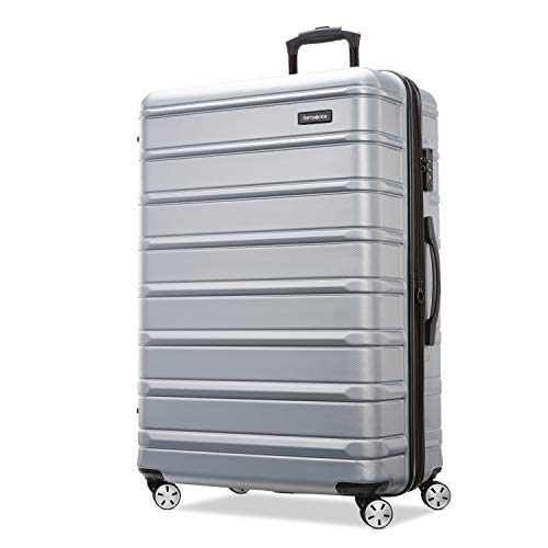 Samsonite Omni 2 Hardside Expandable Luggage with Spinner Wheels, Artic Silver, Carry-On 20-Inch