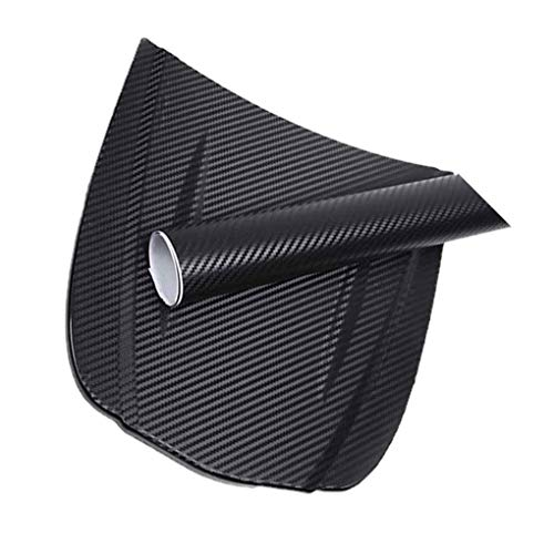shunbang yuan 3D-Carbon-Faser-Auto-Film Adhesive Auto-Verpackungs-Aufkleber-Blatt-Rolle DIY Abziehbild-Dekor Hochglanz Wasserdicht