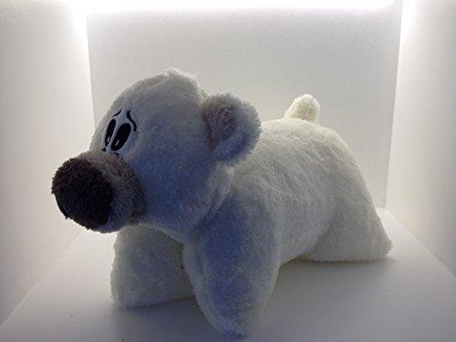 Knuffelkussen dierkussen reiskussen knuffelig zacht ijsbeer