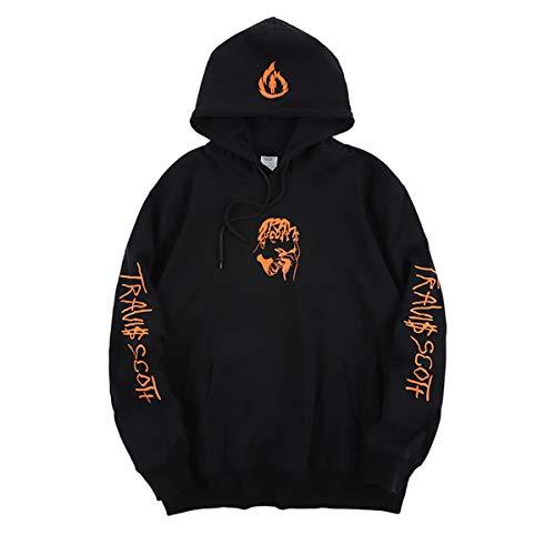 cpfm.xyz Men's Travis Scott Hoodie Hip Hop Rapper Hooded Cotton Pullover Hoody