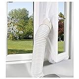 Comfee Fensterabdichtung Hot Air Stop für mobile Klimageräte und Abluft-Wäschetrockner, weiß, 10000196