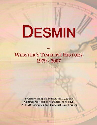 Desmin: Webster's Timeline History, 1979 - 2007