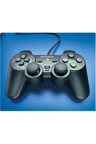 PlayStation 2 - Analog Controller Dualshock2 schwarz (Joypad PS2, original Sony) (Sony)
