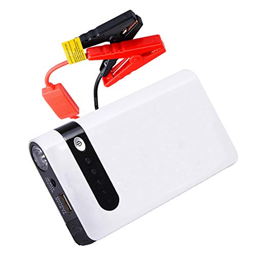 Arrancador de Coches, 400A 30000mAh Arrancador Batería Coche (hasta 4.0L Gas) de Impermeable Batería Arrancador de Coche, 3 Modos Linterna LED & Puerto USB