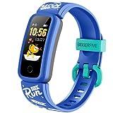 BIGGERFIVE Orologio Fitness Tracker per Bambini Ragazzo Ragazzi 5-12 Anni, Contapassi Calorie...