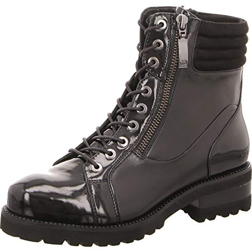 Gerry Weber Shoes Damen Jale 14 Combat Boots, Schwarz (Schwarz 100), 41 EU