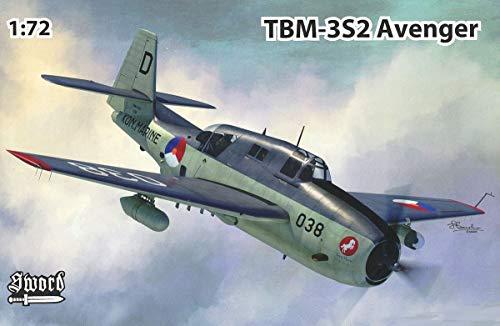 Swordソード 1/72 オランダ空軍 TBM-3S2 アベンジャー 対潜攻撃機 プラモデル SWD72131