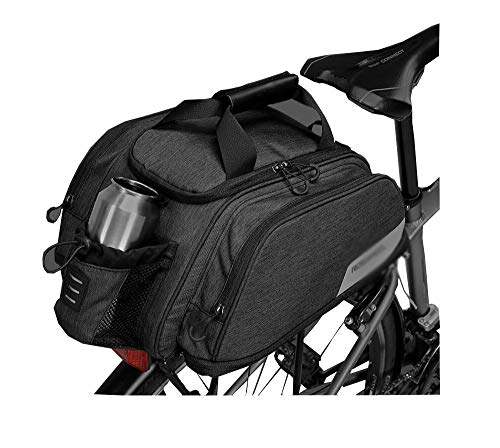 XinQing Bicycle Bag Mountain Bike Rear Bag Shelf Bag, Riding Equipment Waterproof Large Capacity Camel Bag Accessories Rear Seat Bicycle