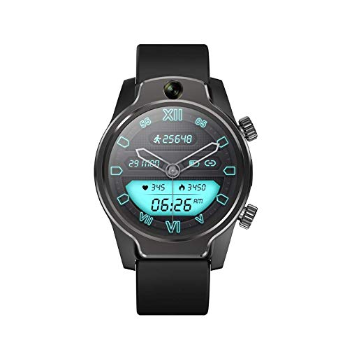 """SmartWatch Reloj Inteligente 4G LTE Llamada 3 GB + 32 GB con Cámara 8MP 1360mAh Reloj Deportivo IP68 con Pantalla Táctil 1,69\"""" con Monitor de Ritmo Cardíaco Android iOS"""