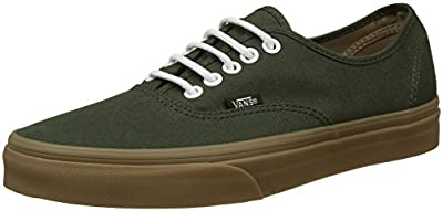 Vans Unisex-Adult Authentic Shoes, Size: 5.5 D(M) US Mens/7 B(M) US Womens, Color (Gumsole) Rosin/Light Gum