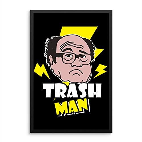 Zoko Apparel Frank Reynolds The Trasman Poster Gift Funny Always Sunny in Philadelphia Poster Ritratto Stampa Arte Camera Decor/Wall Art Print (40 x 61 cm)