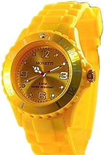 Reloj de pulsera deportivo de cuarzo para hombre y mujer, resistente al agua