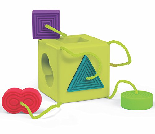 Fat Brain Oombee Cube Sorter, Tactile...