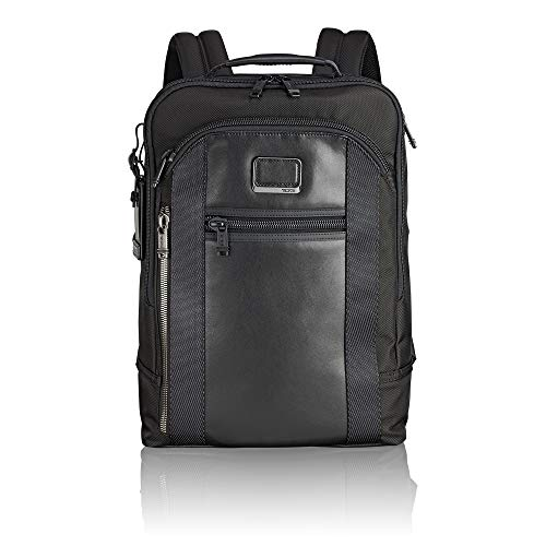 "Tumi Alpha Bravo - Davis Laptop Backpack 15"" Rucksack, 42 cm, 11.87 L, Black"