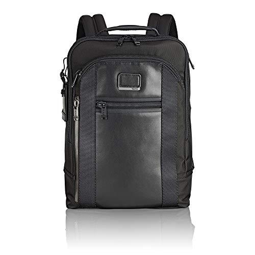 TUMI Alpha Bravo - Davis Laptop Backpack 15' Zaino Casual, 42 cm, 11.87 liters, Nero (Black)