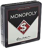 "Winning Solutions Monopoly Nostalgia Tin Board Games, Multi, 10.5"" L x 10.5"" W x 2"" H"