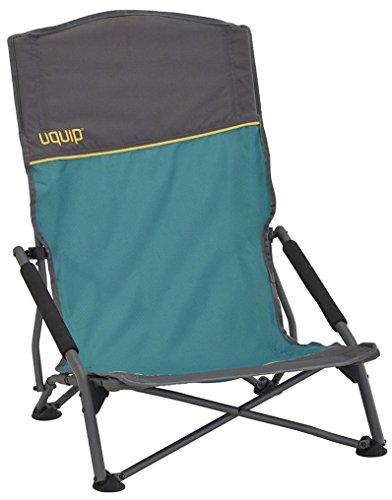 Uquip Sandy XL - Chaise de Plage Pliante Confortable avec Dossier très Haut