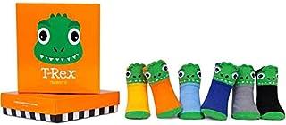 Trumpette T-Rex - Juego de calcetines para bebé, 0-12 meses, en caja de regalo