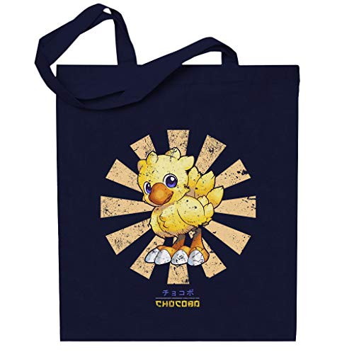 Chocobo Retro Japanese Final Fantasy Totebag