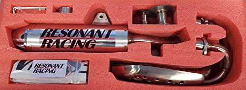 Zoom Zoom Parts Performance Aluminum Exhaust Muffler For 1999 2000 2001 2002 2003 2004 2005 2006 2007 2008 2009 2010 2011 2012 2013 2014 Honda trx400ex TRX 400 EX Complete System