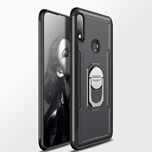 Custodia® Fermezza Smartphone custodia con Anello per Asus Zenfone Max Pro(M2) ZB631KL(Nero)