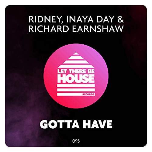 Ridney, Inaya Day & Richard Earnshaw