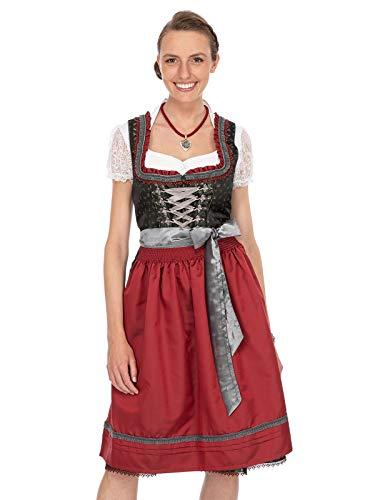 Stockerpoint Damen Serina Dirndl, Mehrfarbig (Tanne-Beere Tanne-Beere), (Herstellergröße: 34)