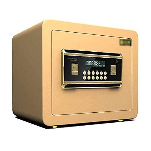 NCHEOI Caja Fuerte Cajas de Seguridad Caja de Seguridad Caja de Seguridad La contraseña y la Llave se encienden al Mismo Tiempo con un Sistema Inteligente Dual for el hogar,Coffrán de Office