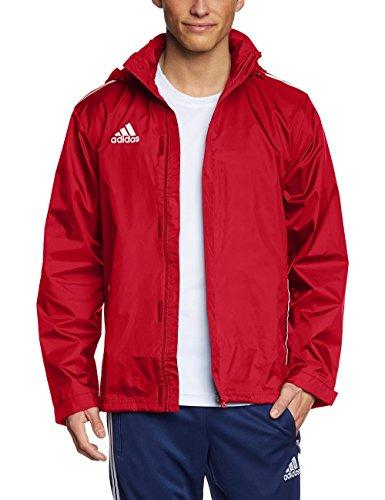adidas Herren Bekleidung Regen Jacke Core 11 Regenjacke, University Red/White, 3