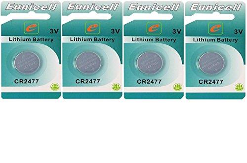 Eunicell 4X CR24773V batteria a bottone al litio 1050mAh prodotto