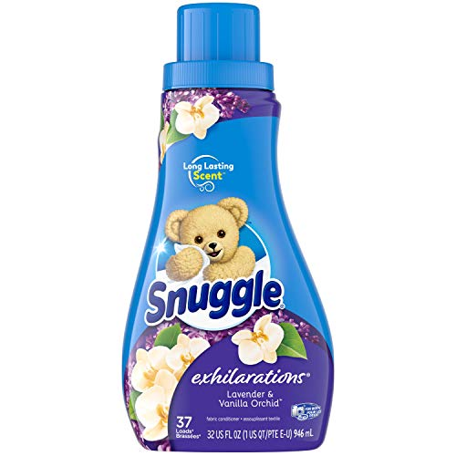Snuggle Exhilarations Liquid Fabric Softener, Lavender & Vanilla Orchid, 32 Fluid Ounces