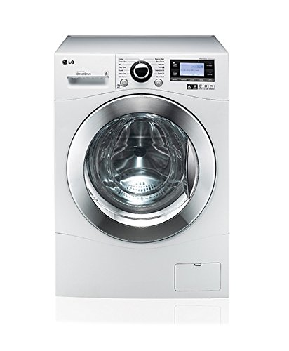 LG FH495BDN2 Independiente Carga frontal 12kg 1400RPM A+++-50% Blanco - Lavadora (Independiente, Carga frontal, Blanco, Botones, Giratorio, Izquierda, LED)