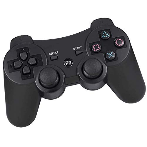 Cypin Wireless Controller für PS3 Bluetooth Game Controller Joystick Gamepad Playstation 3 Dual-Vibration 6-Achsen USB Controller Wireless Joypad