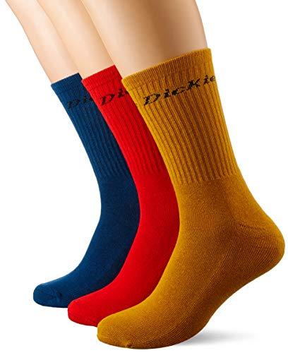 Dickies Herren Sutton Socken, Mehrfarbig (Assorted Colour As), 39/42 (Herstellergröße: 39)