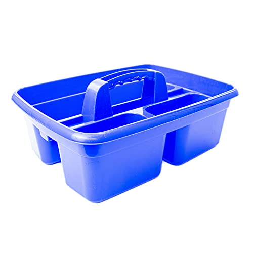 Clay Roberts Cleaning Caddy with Handle, Cleaning Products & Tools Storage Basket, Industrial Tote Caddy